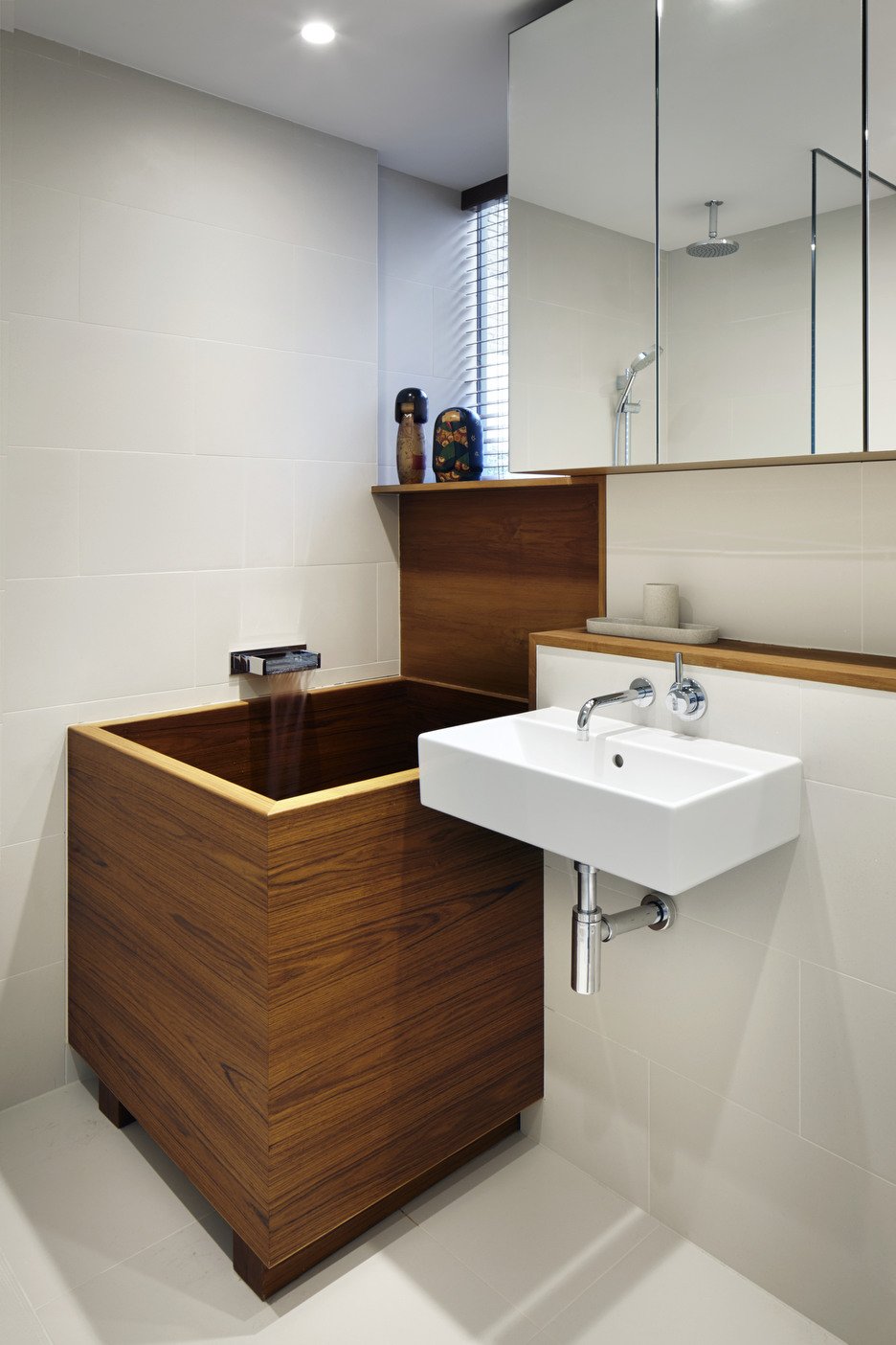 Bathroom Shelf and Bathroom Cupboard with Mirror - Photography - Jack Hobhouse