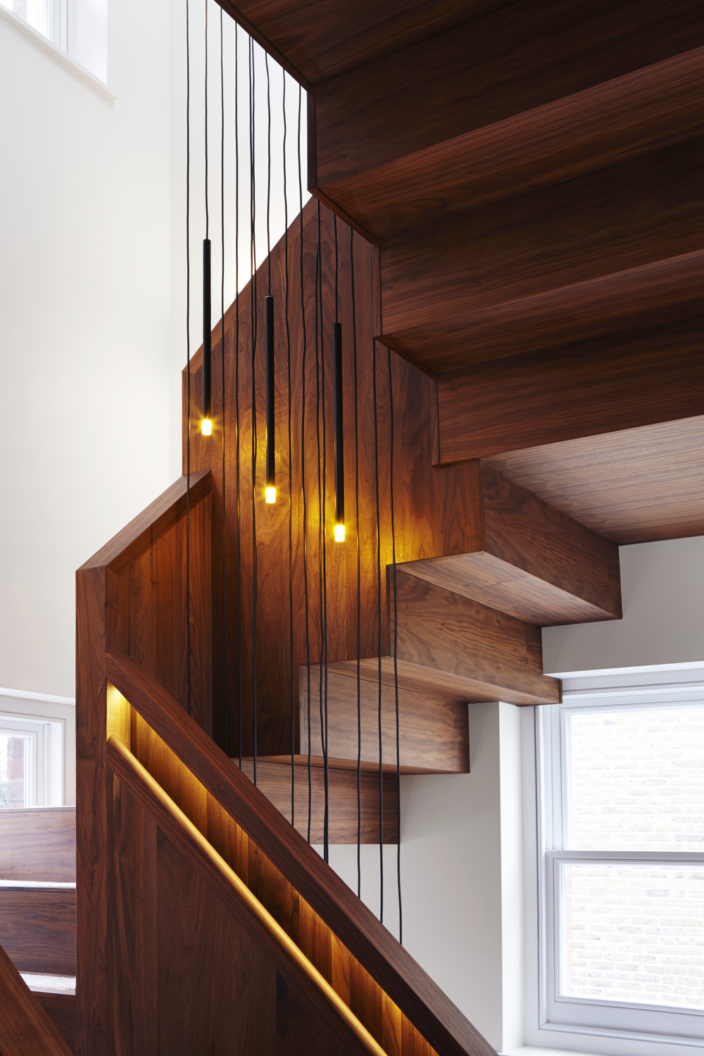 Staircase and Light Detailing - Photography - Jack Hobhouse
