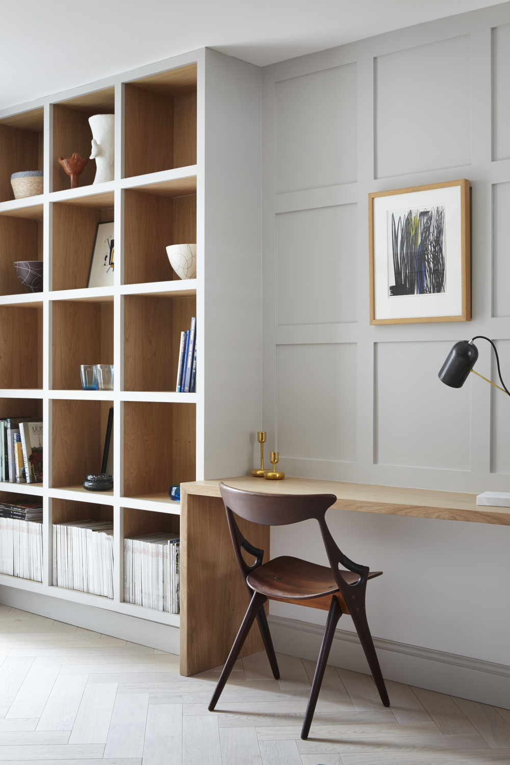 Writing desk, Panelling and Storage - Photography - Jack Hobhouse