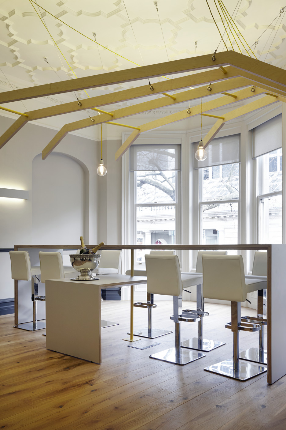 Pommery Office and Tasting Room