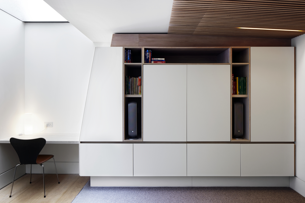 Media Storage and Writing Desk - Photography - Jack Hobhouse
