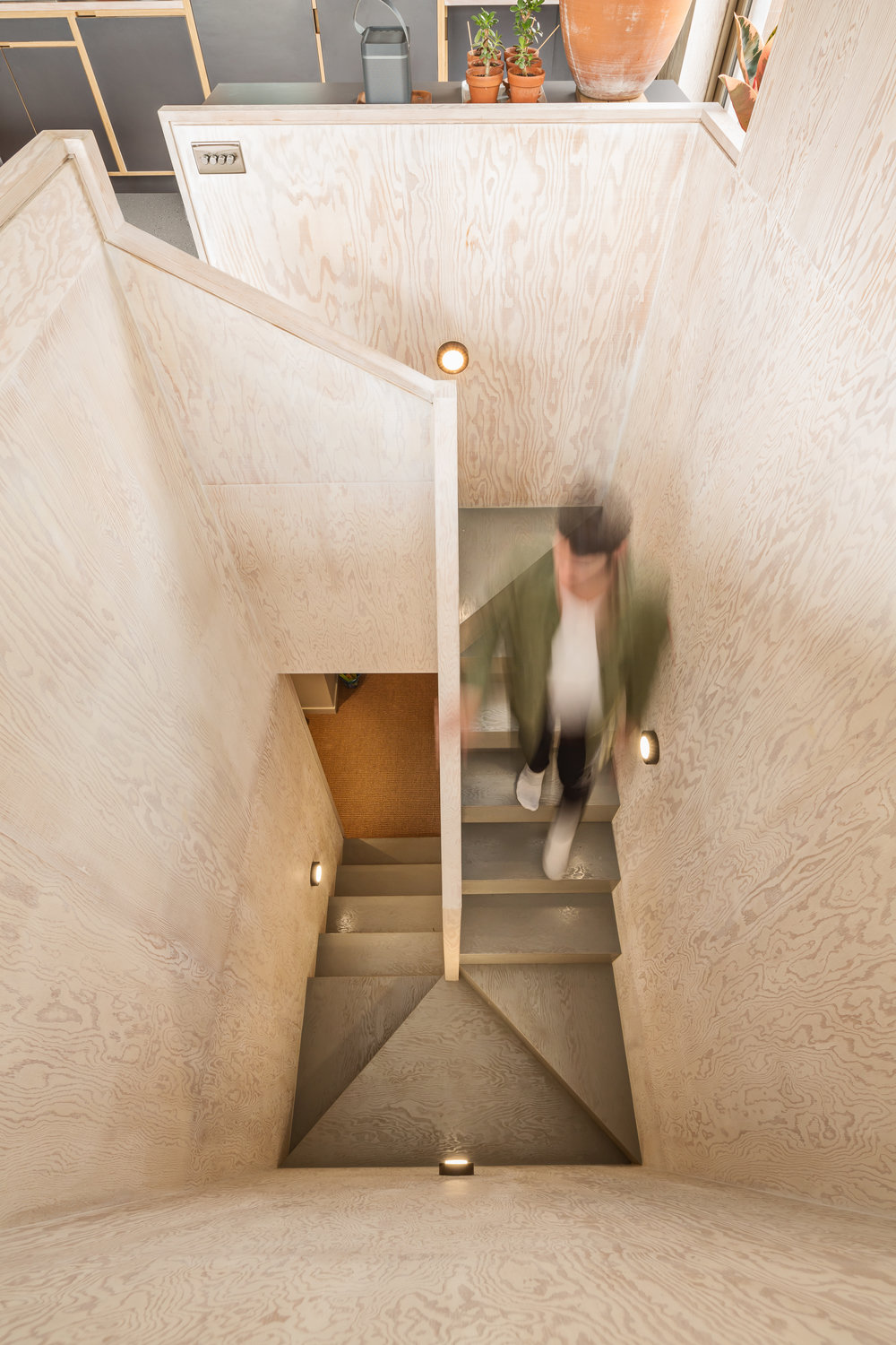 Plywood Staircase - Photography - Adam Scott