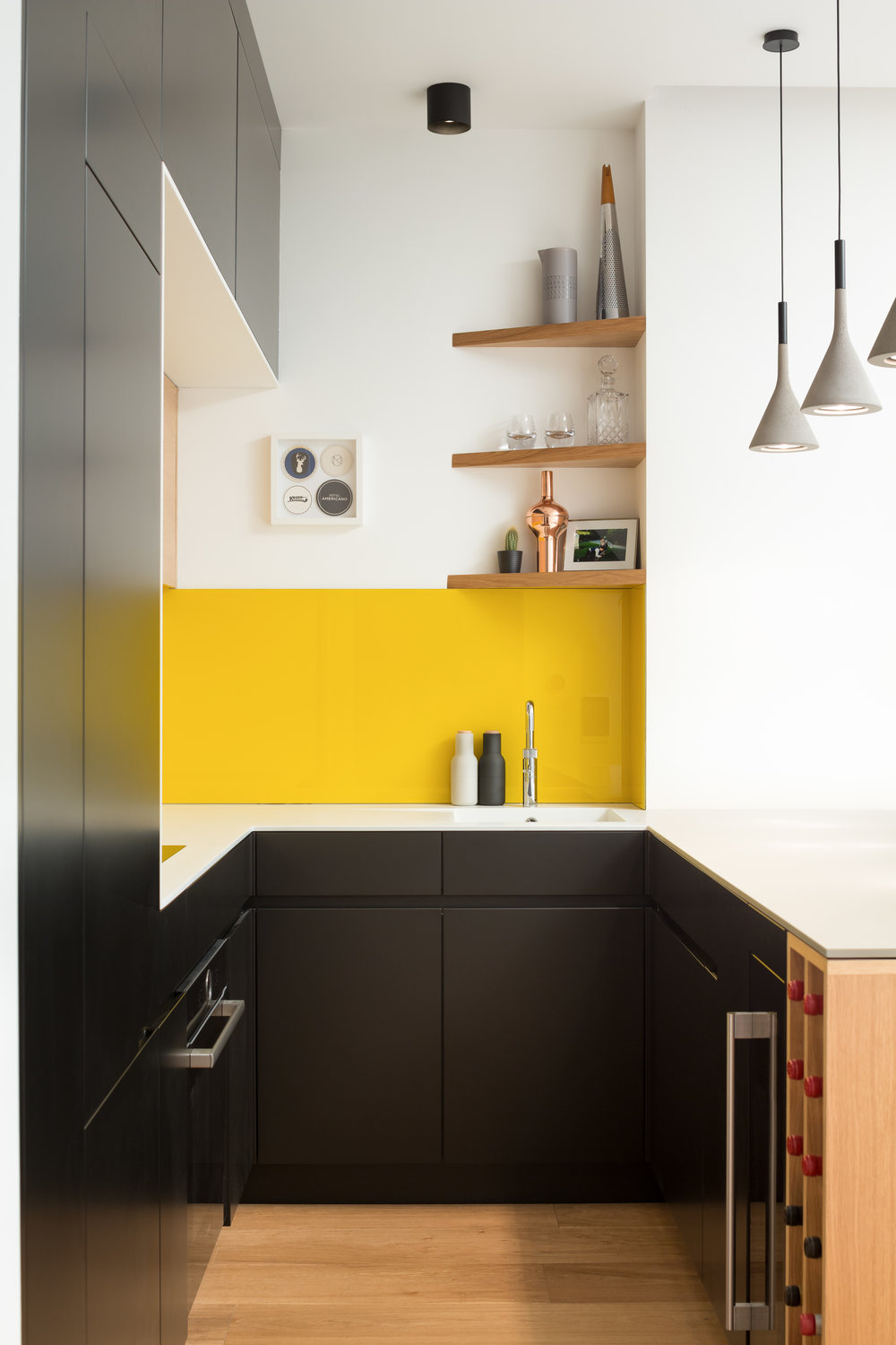 Integrated Kitchen Storage
