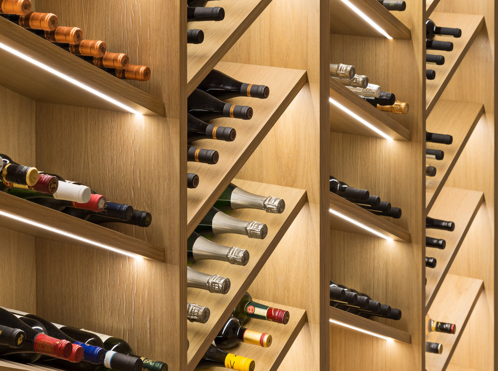 Wine Wall - Photography - Adam Scott
