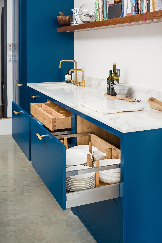 Integrated Kitchen Storage