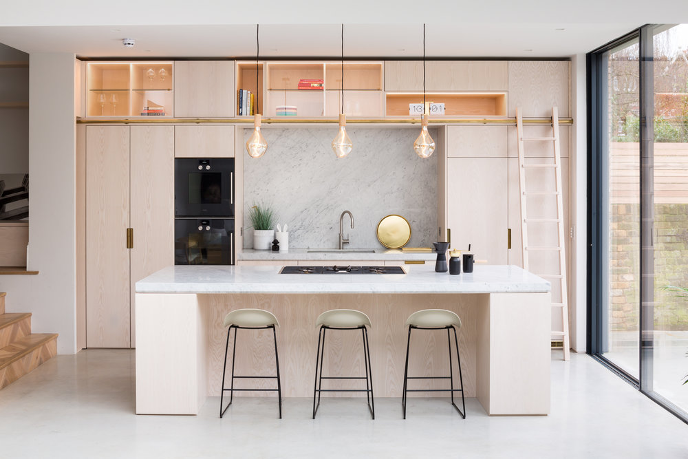 Kitchen island and unit