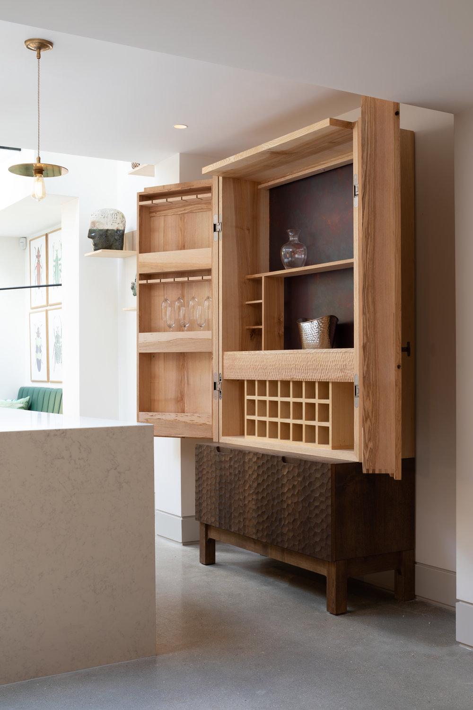 Bespoke bar cabinet