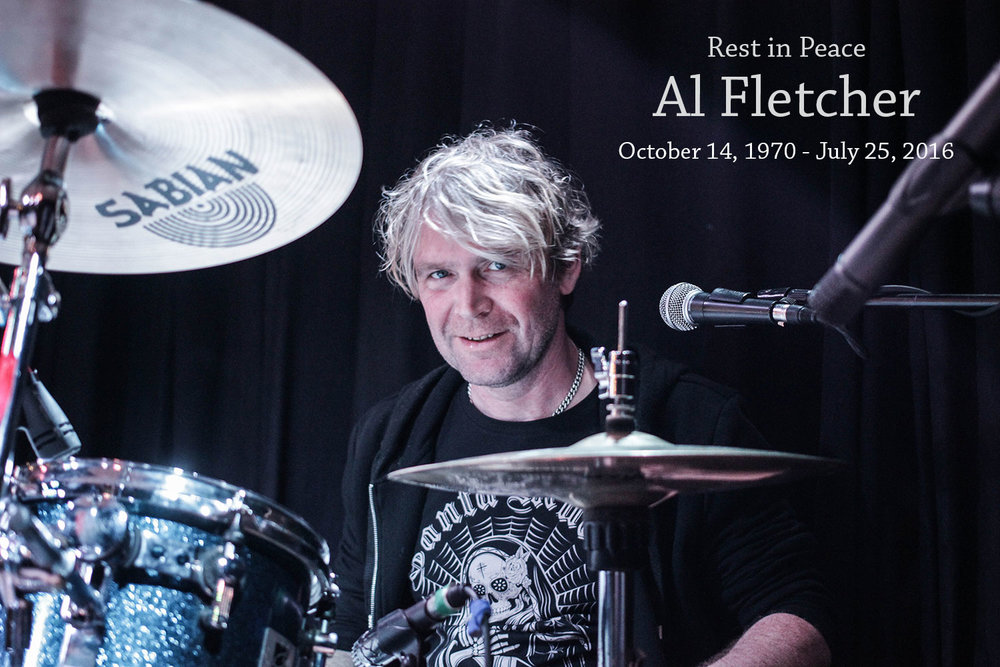 Al Fletcher - beloved friend and most talented drummer
