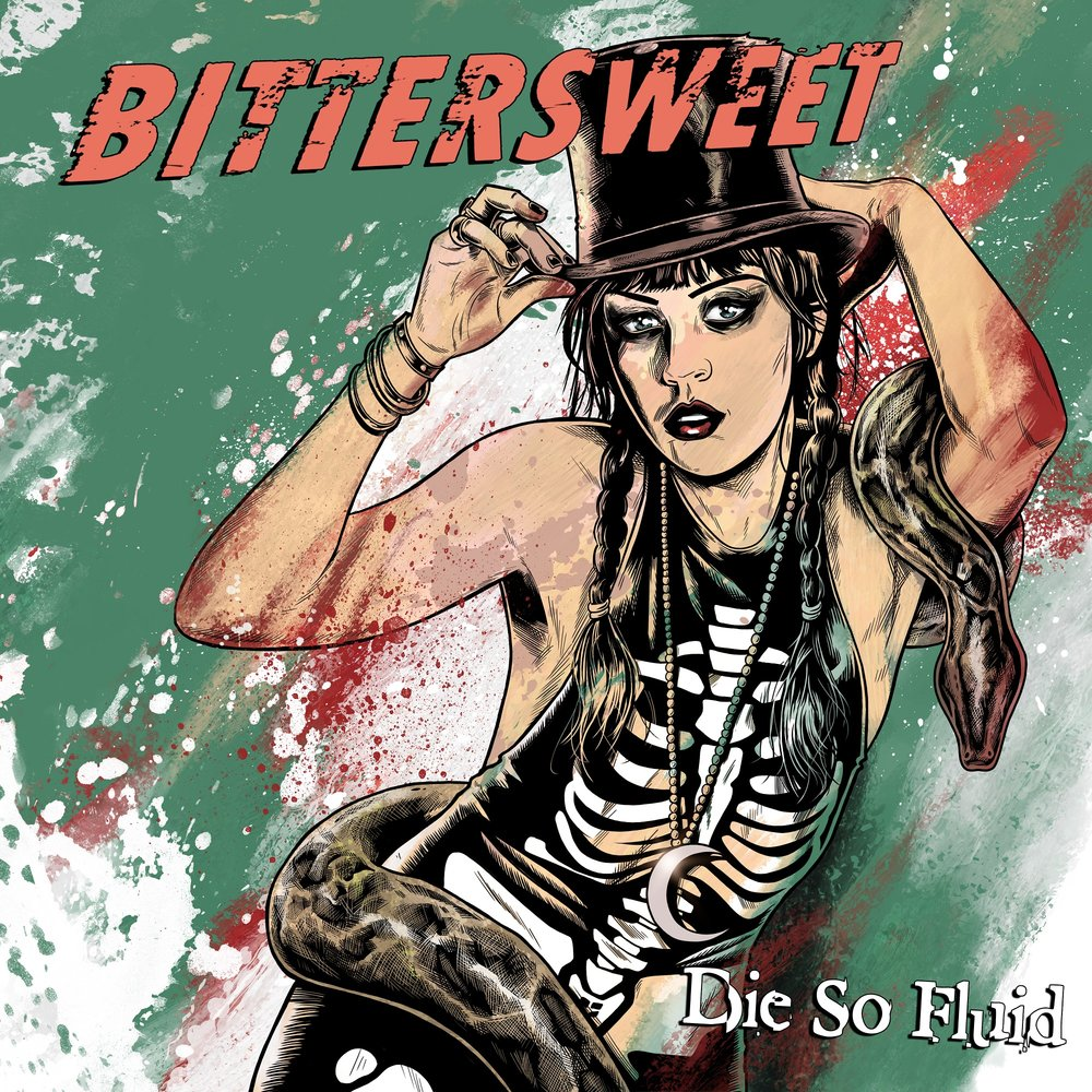 'BITTERSWEET' - Single out 7 April 2017 from upcoming album Jump over to One Bullet From Paradise page!