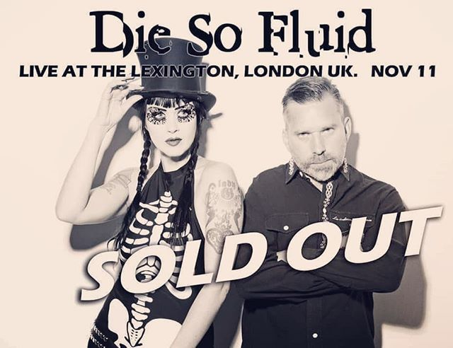 Our show at the @thelexingtonlondon is officially SOLD OUT🤘! Cannot wait for the big London rock show with you guys!!! With Justin Bennett 🥁 @officialskinnypuppy @thrillkillkultx on drums, we'll be playing some songs from our new album 'One Bullet From Paradise' together with favourites from previous albums.  Mr @davidryderprangley will be doing some DJing and there's a reserved area party downstairs after the show. Put your party pants on! 😎✌️🤘🎩🎸⚡️🌟🤣 . . #diesofluid #londonrocks #soldout #soldoutshow #lexingtonlondon #londonrocks #livemusic #rockvenue #London  #alternativemusic #metal #punk #femalefronted #femalebassplayers #grogrox  #onebulletfromparadise #meetandgreet #feelthelove #ourfansarethebest
