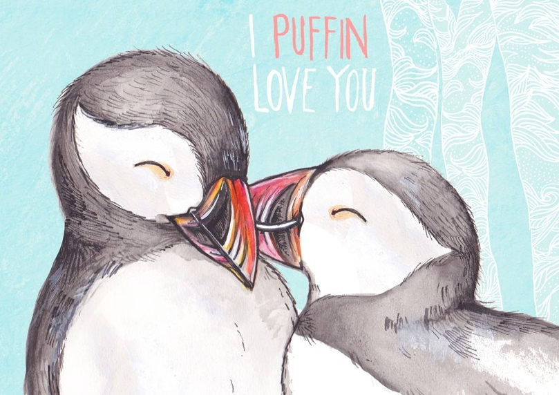 I puffin love you!