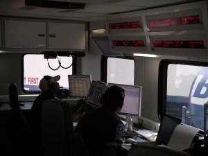 Frac Job Control Room