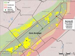 Marathon Oil Core Eagle Ford Acreage