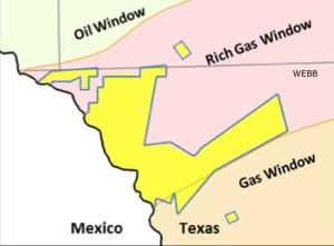 SM Energy Operated Eagle Ford Acreage Map