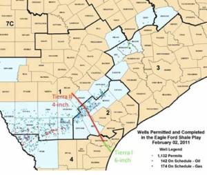 Tierra Pipeline Map