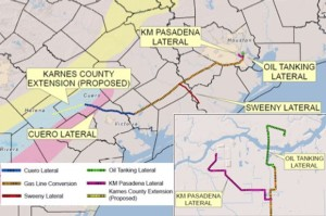 Kinder Morgan Crude & Condensate Expansion into Karnes County
