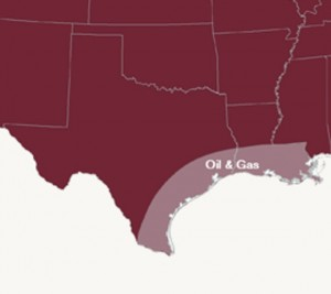 U.S. Energy Corp. Oil & Gas Project Area Map
