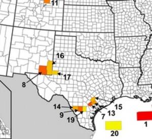 Top Oil Producing Counties in U.S.