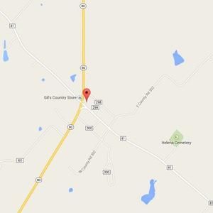 Helena, TX Map