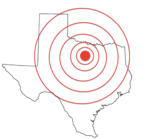 RCC Studies Texas Quakes