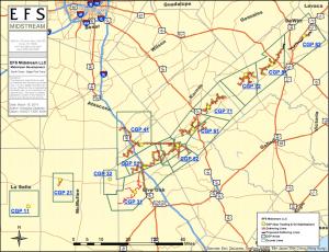EFS Midstream Operating Area