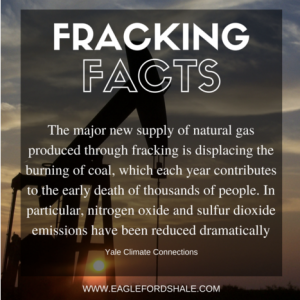 Fracking healthier than coal