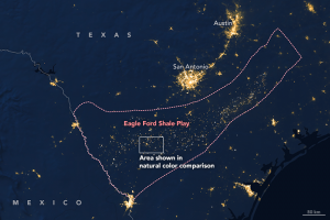 eagle ford shale NASA
