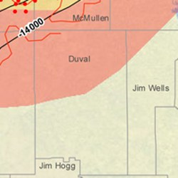 Duval County Eagle Ford Shale Map
