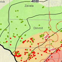 Dimmit County Eagle Ford Shale Map