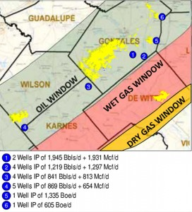Forest Oil Eagle Ford Shale Acreage Map