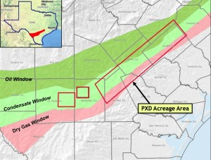 Reliance Eagle Ford Shale Acreage Map