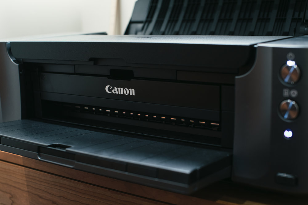 Canon PRO-10 in my office