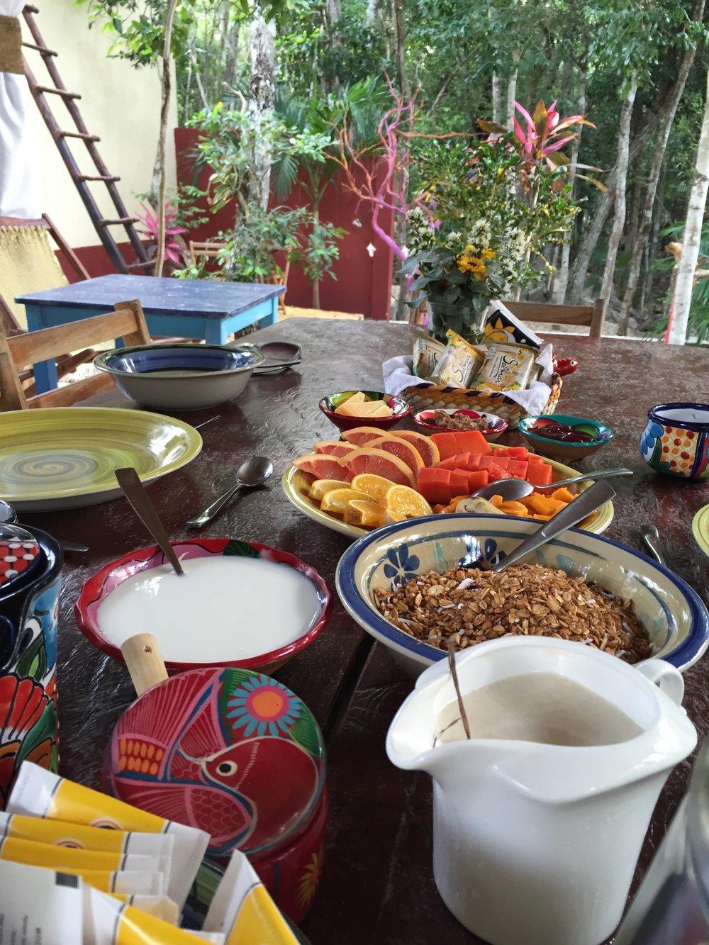 Breakfest in Tulum_Mayan Adventures_Evolving Mindfully_Evolutionary Adventure.jpg