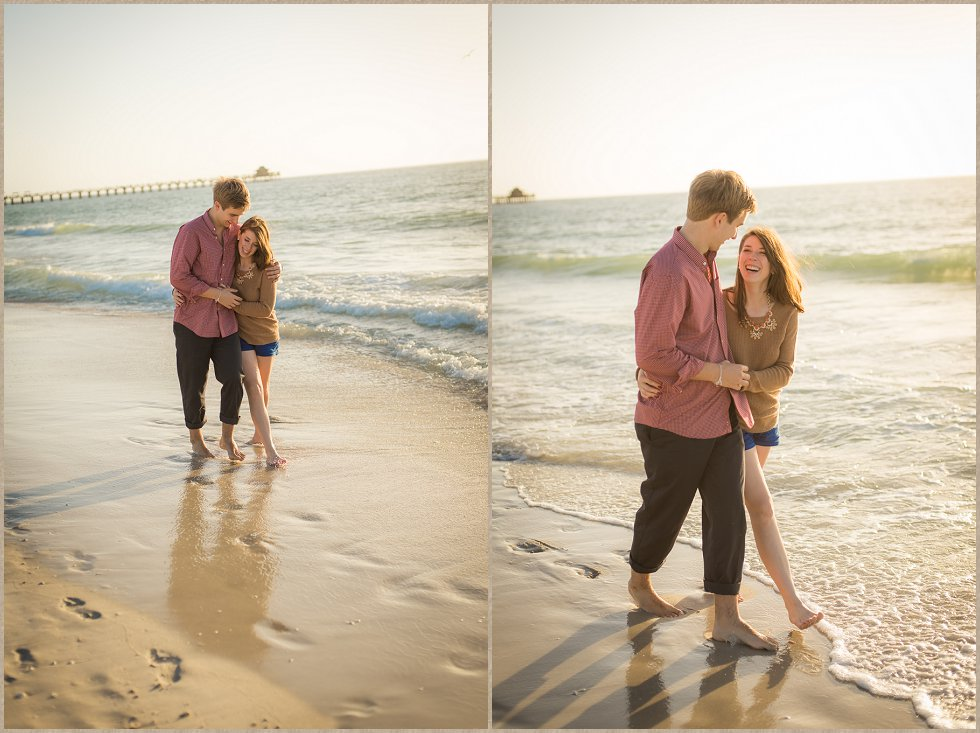naples city dock engagement