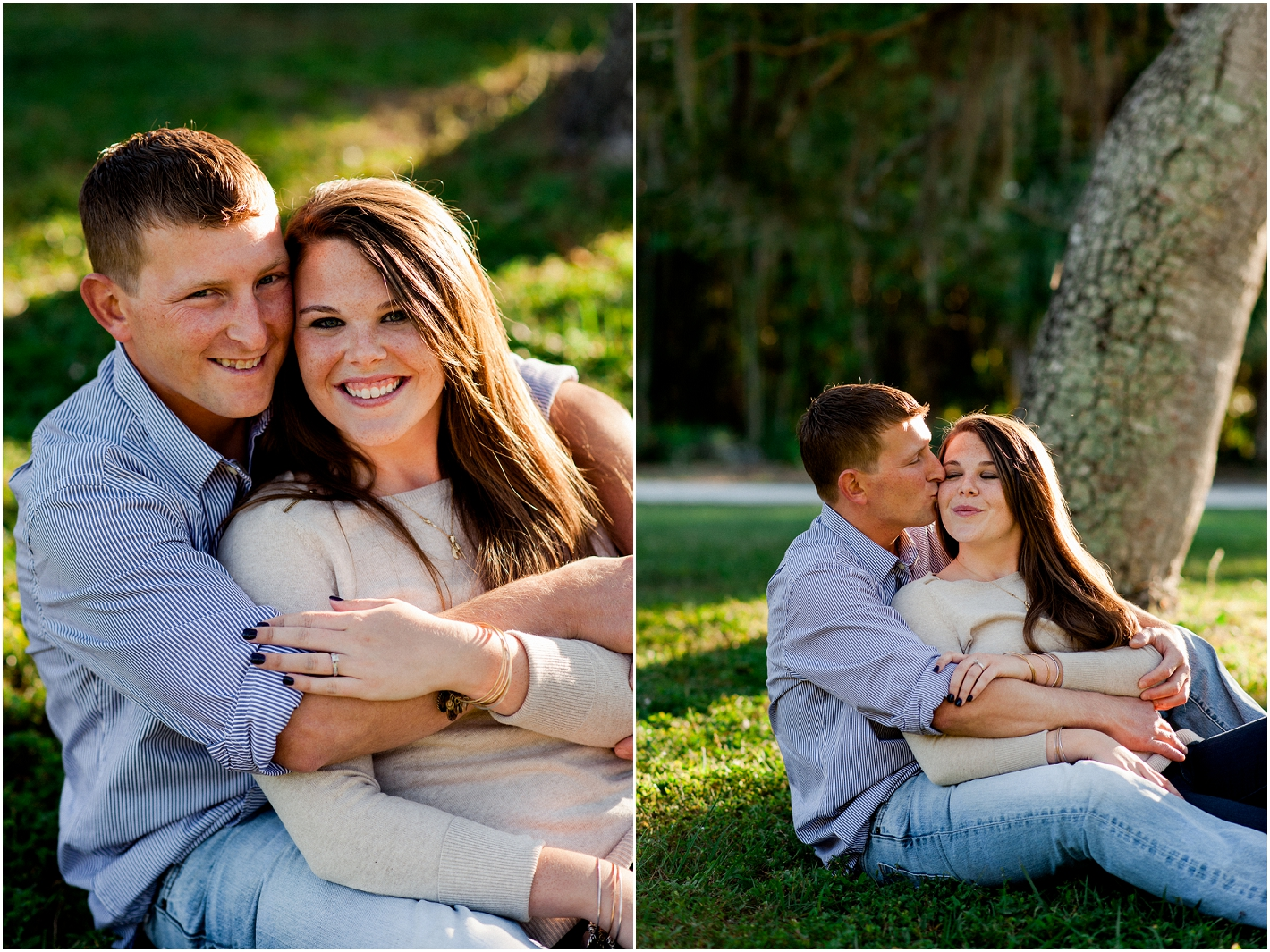 koreshan state park and historic site, engagement session, engagement photography, estero florida, bonita springs florida, florida wedding photographer