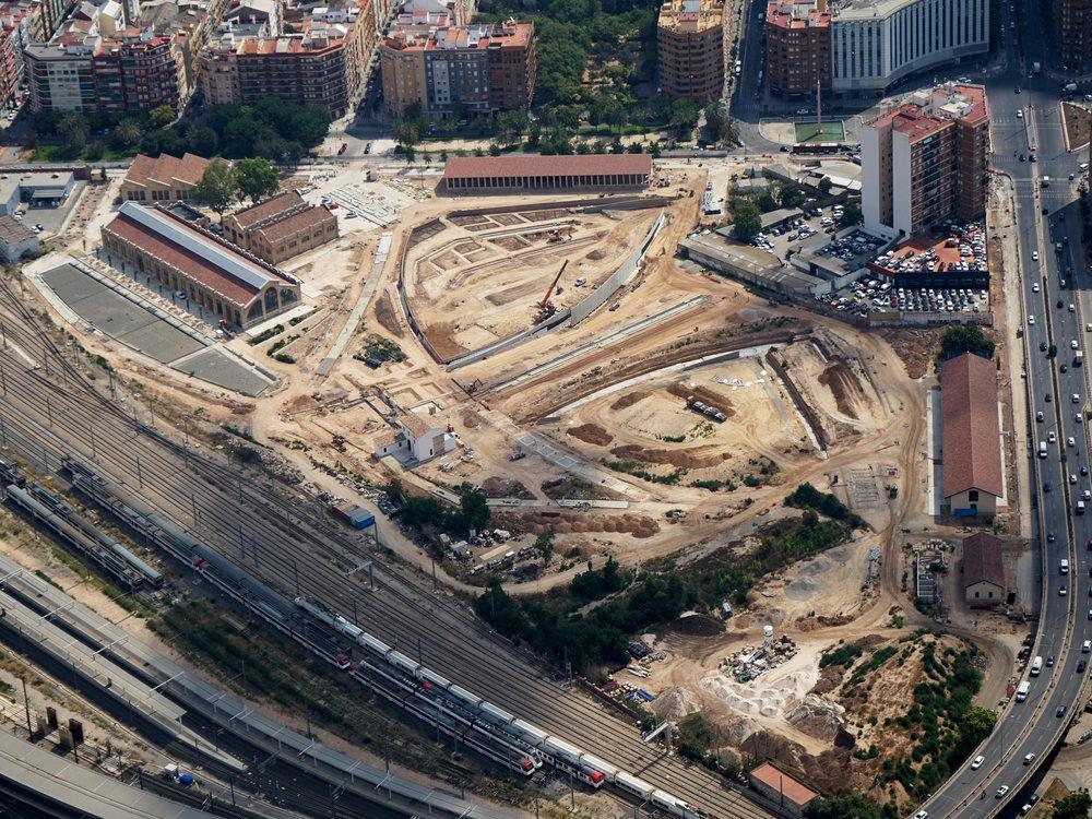 Copyright: Zeppeline / Valencia Parque Central Alta Velocidad 2003 S.A.