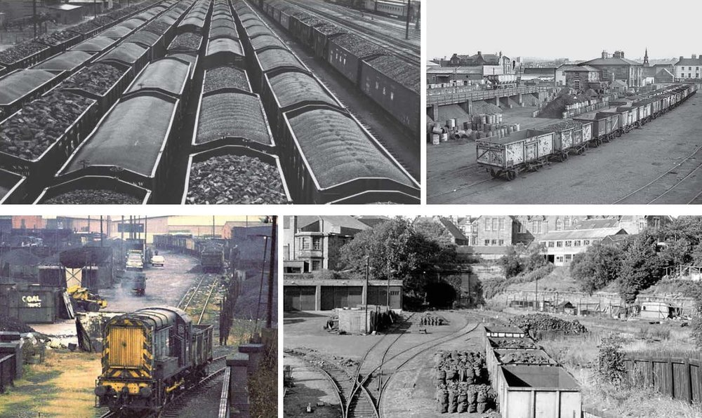 Use of site as a railway coal depot