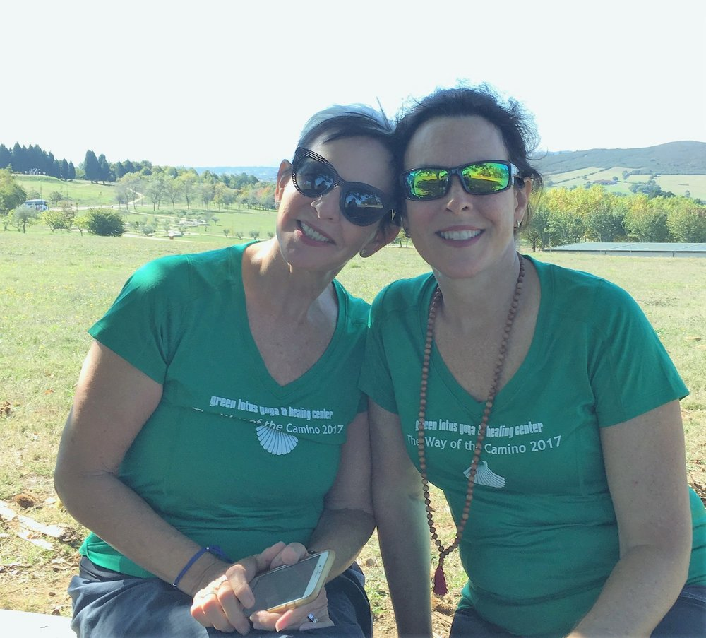 Marcia & Merry Beth on the Camino in 2017