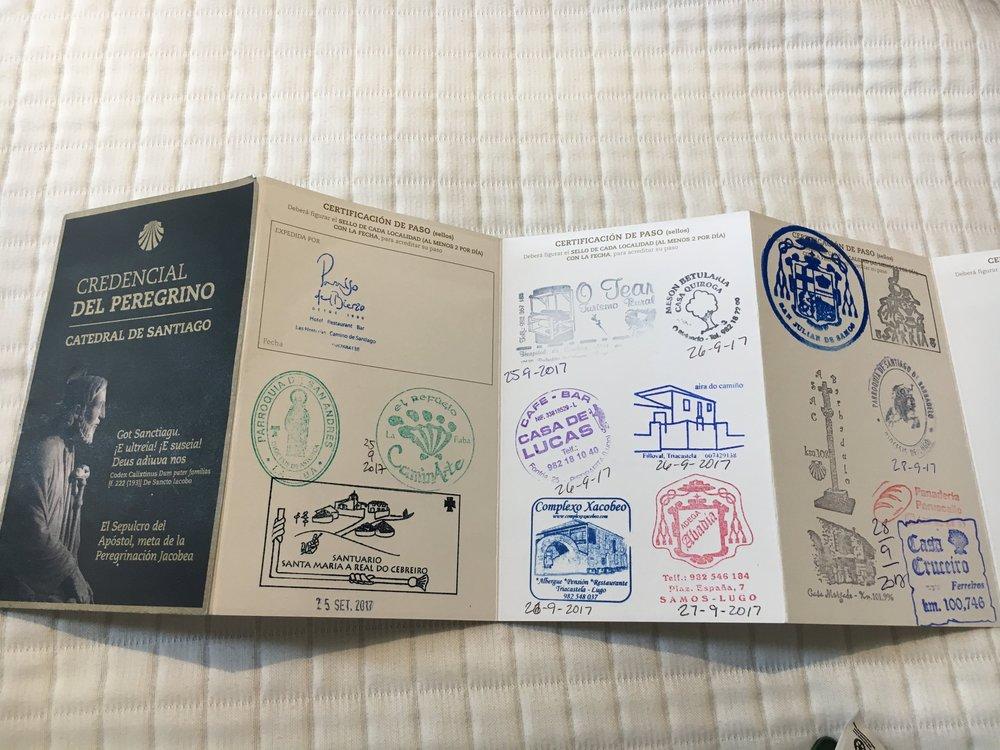 camino passport.JPG