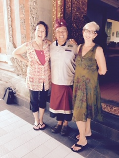 Bali Retreat - MB, Marcia & friend