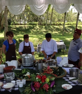 Bali retreat - cooking class