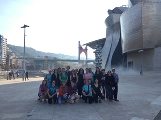 Camino group in Spain