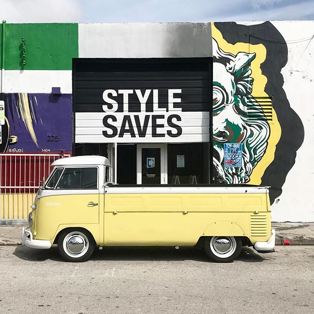 @miansai & @illesteva all weekend at our HQ in Wynwood! Stop & shop! 💛#stylesaves #wynwood #miansai