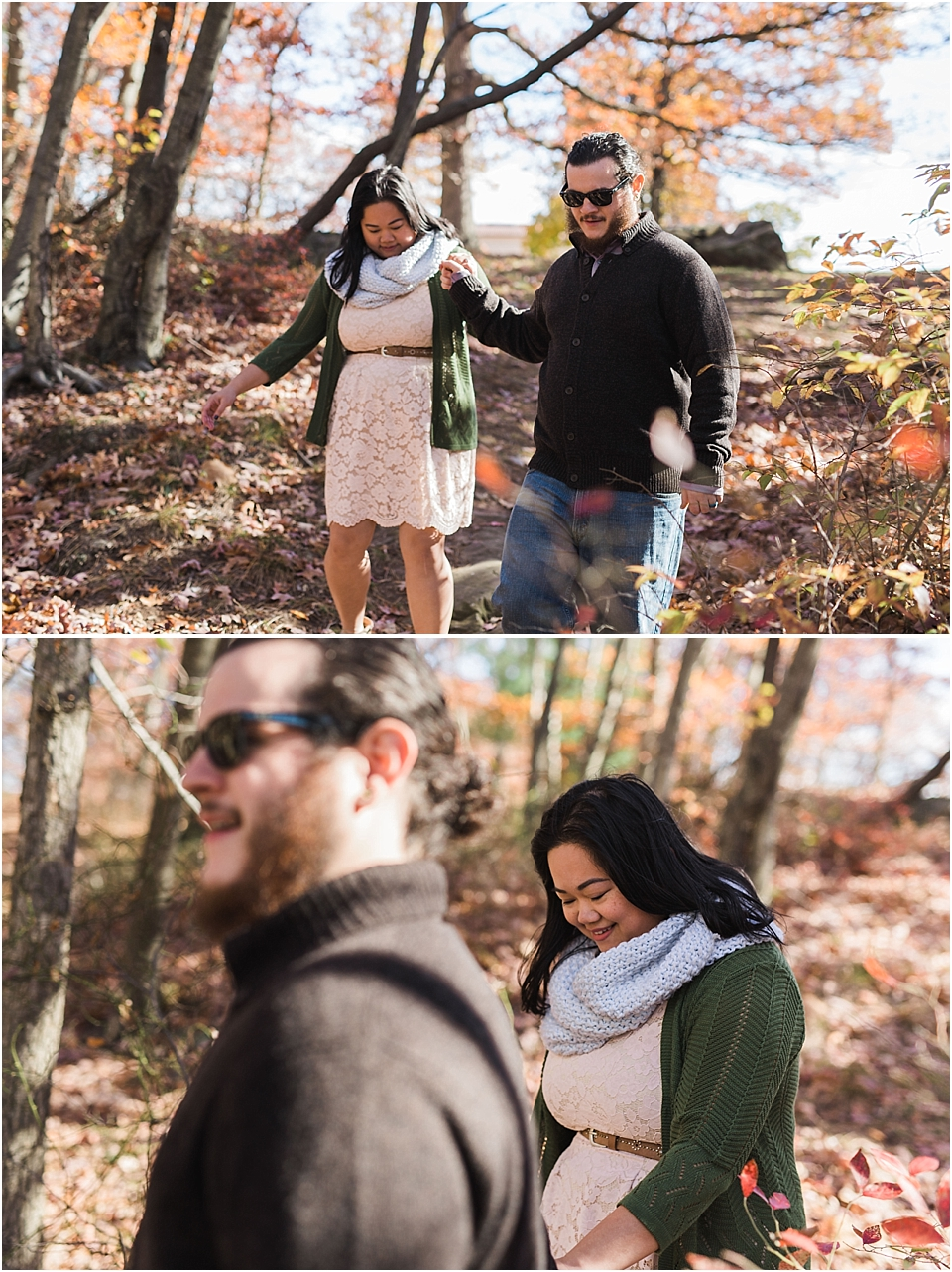 Alisone Joe Montclair State University Engagement Session - Kamp Weddings_0008.jpg
