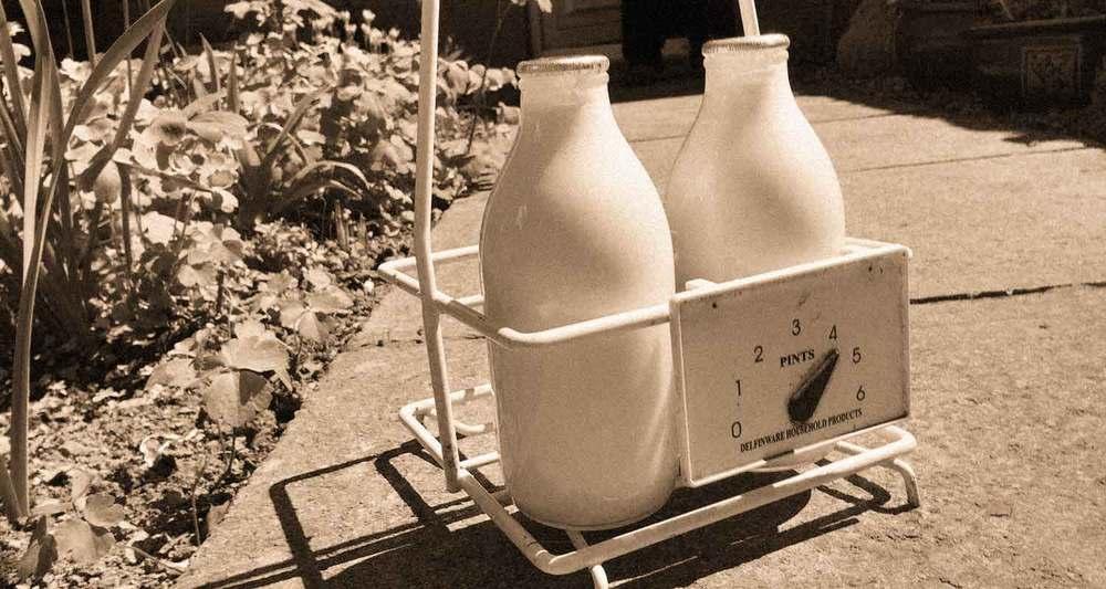 Brecon Milk delivery, Powys, Wales