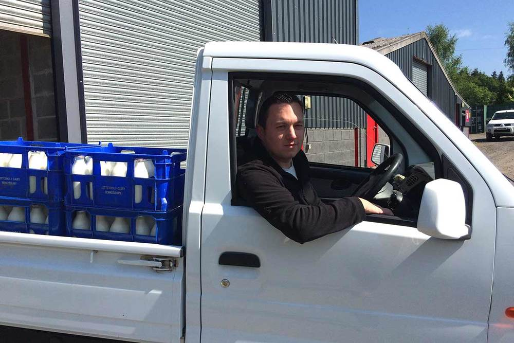 Delivery milk to business in Brecon and surrounding areas