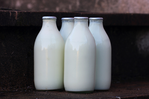 Milk and eggs from Brecon Milk