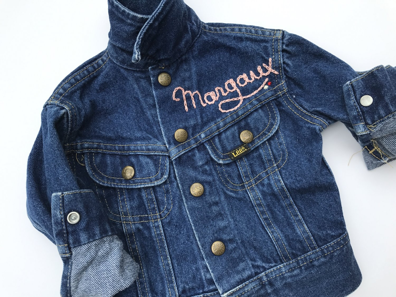 c04befe653 CUSTOM EMBROIDERED DENIM JACKET — SiD NYC