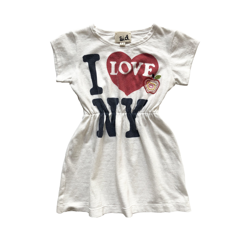 I love ny re worked vintage t shirt dress sid nyc i love ny re worked vintage t shirt dress altavistaventures Choice Image
