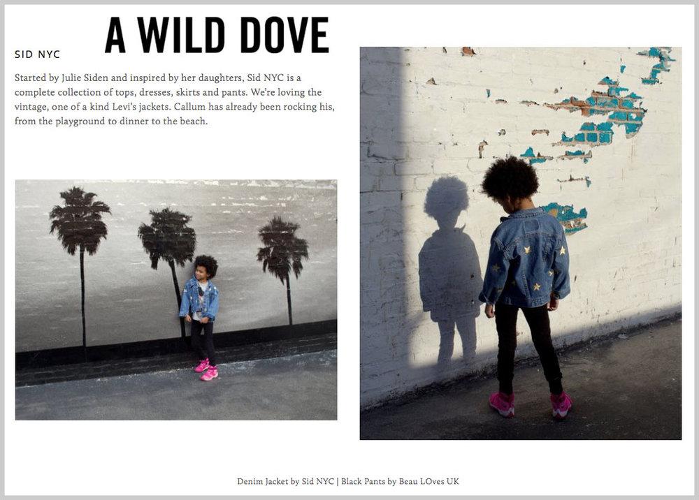 A WILD DOVE : Ziggy stardust gold star vintage denim jacket { April 2017 }